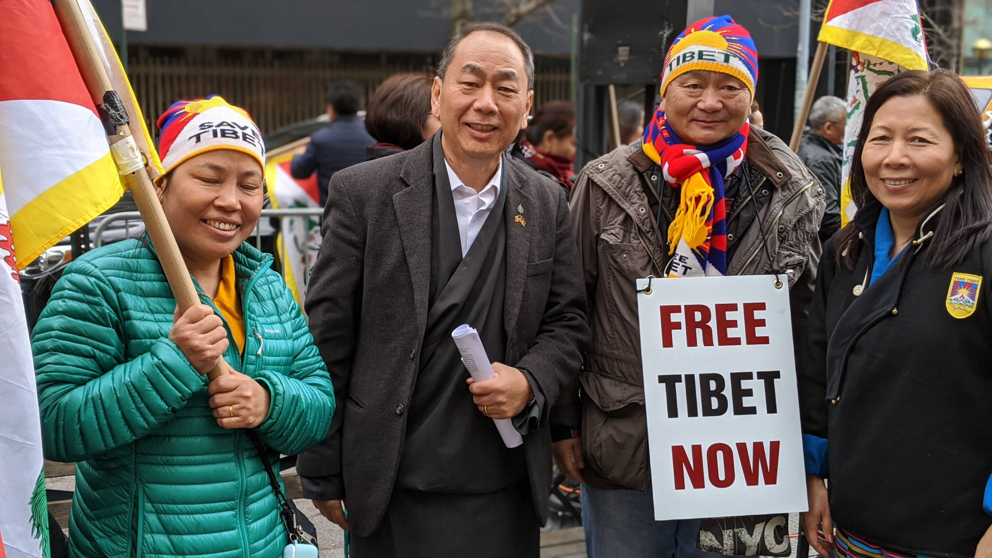 Lobsang Nyandak for Free Tibet!